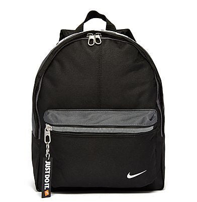 NIKE FUNDAMENTALS MINI BACKPACK BLACK/GREY
