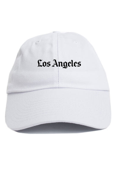 LOS ANGELES UNSTRUCTURED DAD HAT