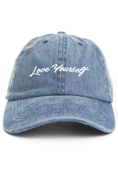 LOVE YOURSELF UNSTRUCTURED DAD HAT