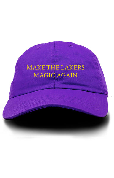 MAKE THE LAKERS MAGIC AGAIN UNSTRUCTURED DAD HAT