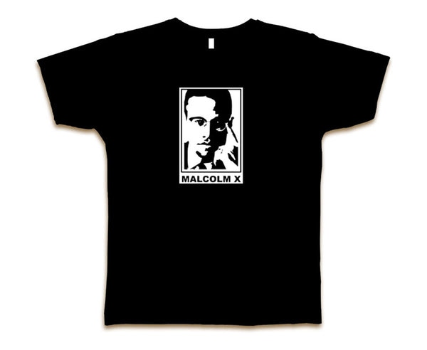 MALCOLM X PORTRAIT MEN'S T-SHIRT