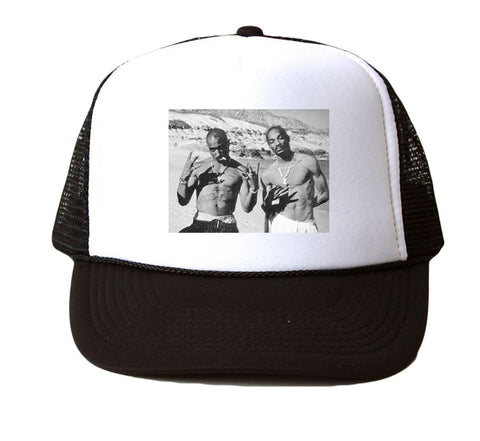 2PAC AND SNOOP - MESH TRUCKER HAT