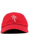 PALM TREE UNSTRUCTURED DAD HAT