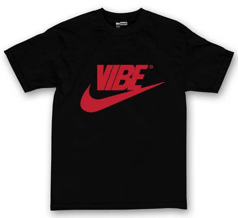theSTASH VIBE T-SHIRT IN BLACK