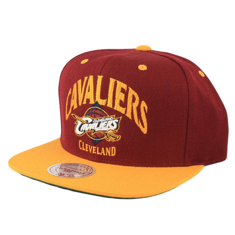 CLEVELAND CAVALIERS MITCHELL & NESS GRAND ARCH SNAPBACK HAT