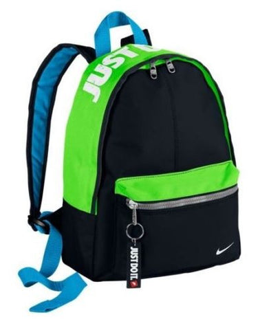 NIKE FUNDAMENTALS MINI BACKPACK BLACK/GREEN