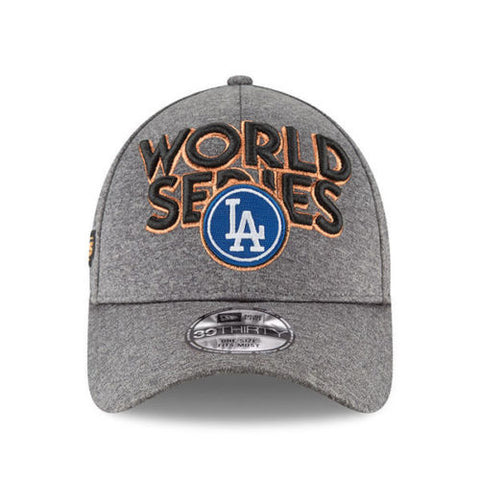 LOS ANGELES DODGERS NEW ERA 39THIRTY EMBROIDERED NATIONAL LEAGUE CHAMPIONS LOCKER ROOM FLEX HAT