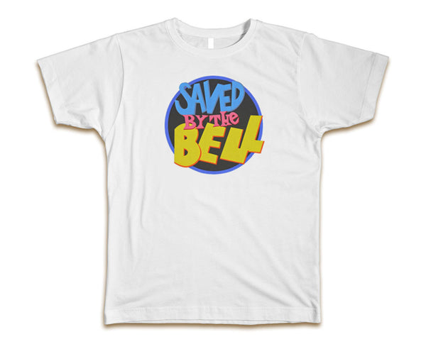 SAVED BY THE BELL LOGO- MEN'S T-SHIRT