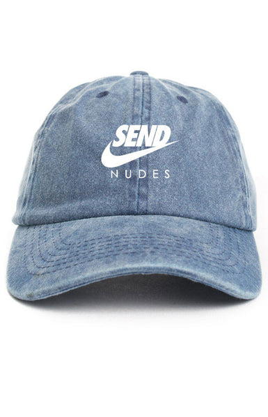 SEND NUDES UNSTRUCTURED DAD HAT