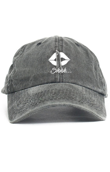 SHHH... UNSTRUCTURED DAD HAT