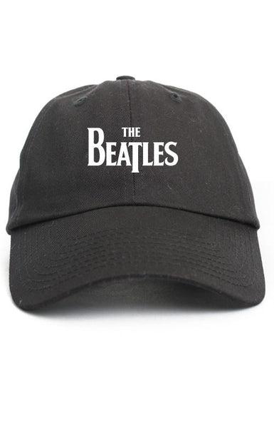 THE BEATLES UNSTRUCTURED DAD HAT