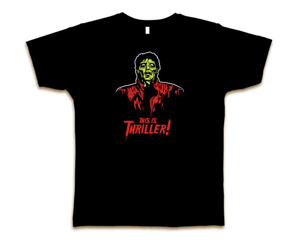 MICHAEL JACKSON THRILLER ZOMBIE MEN'S T-SHIRT