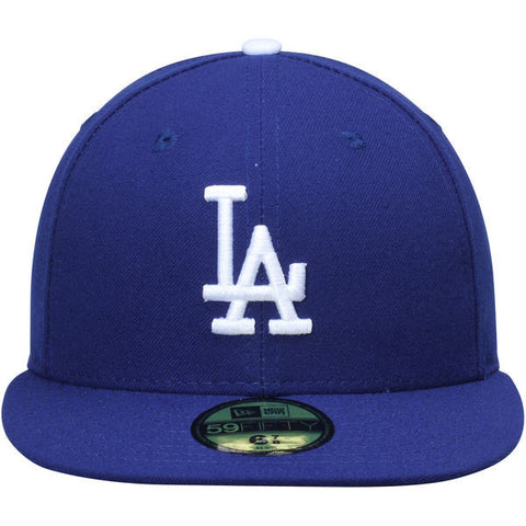 LOS ANGELES DODGERS NEW ERA ON-FIELD 59FIFTY FITTED HAT IN ROYAL