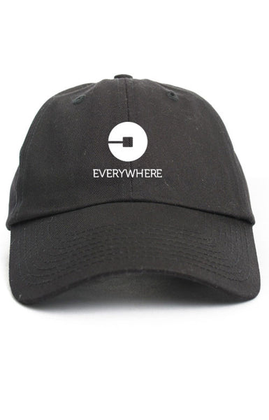 UBER EVERYWHERE UNSTRUCTURED DAD HAT