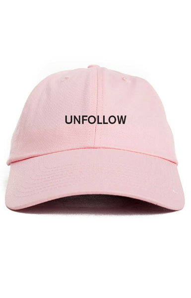 UNFOLLOW UNSTRUCTURED DAD HAT