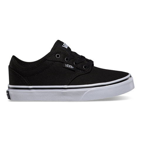 VANS KIDS ATWOOD CANVAS IN BLACK/WHITE