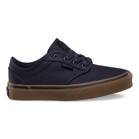 VANS KIDS ATWOOD CANVAS IN NAVY/GUM