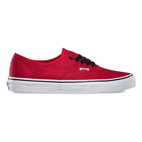 VANS CANVAS AUTHENTIC IN CHILLI PEPPER/BLACK