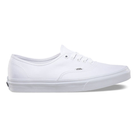 VANS CANVAS AUTHENTIC IN TRUE WHITE