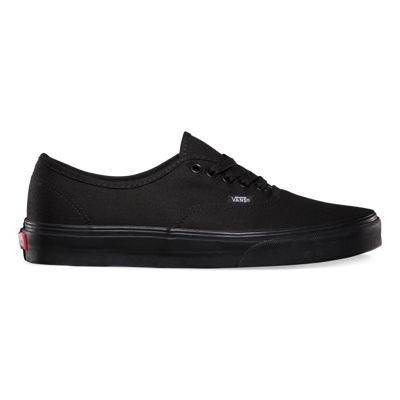 VANS CANVAS AUTHENTIC IN BLACK/BLACK