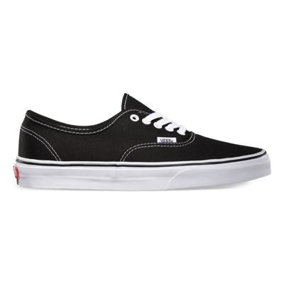 VANS CANVAS AUTHENTIC IN BLACK