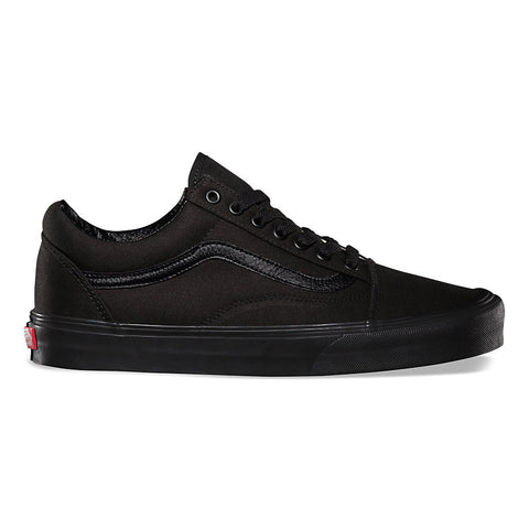 VANS CANVAS OLD SKOOL IN BLACK/BLACK
