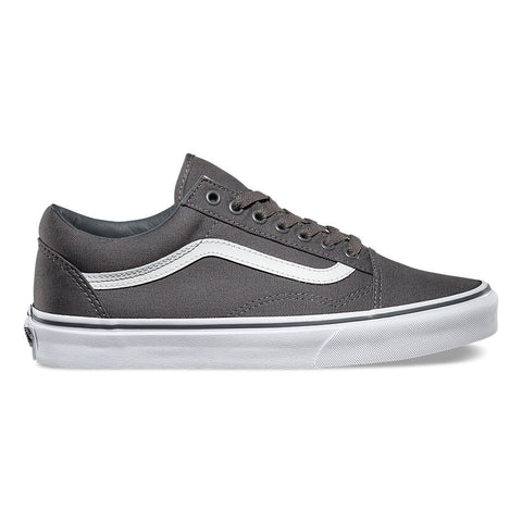 VANS CANVAS OLD SKOOL IN PEWTER/BLACK
