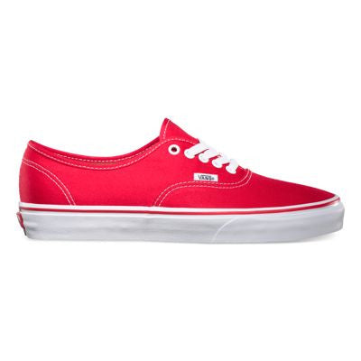 VANS CANVAS AUTHENTIC IN RED