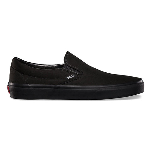 VANS SLIP-ON IN BLACK/BLACK