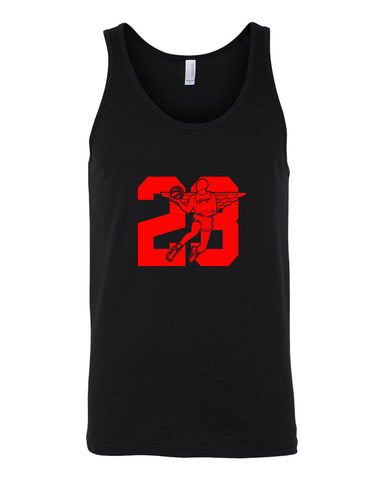 WINGS 23 BANNED - MEN'S TANK