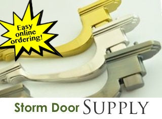 Storm Door Supply Parts Collection
