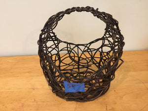 7799 - H - Looped Basket - Unique Design