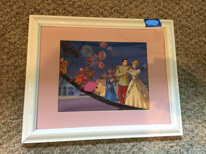 7814 - A - Disney Print - Prince & Snow White -