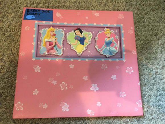 7815 - T - Dream Book - Walt Disney - Princesses - A Place for Your Dreams