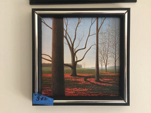 "7895  Vibrant Framed ""Late Fall Meadow"" Print"