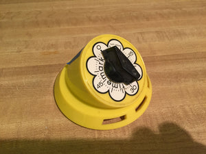 8056 - H - Portable Counter-Top Timer - made by Time Mark - Yellow