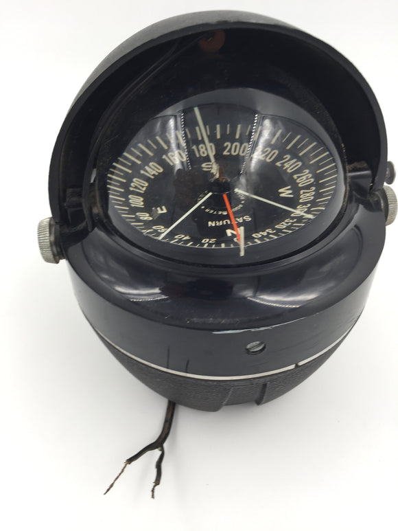 8088 - AU - Saturn Electronic - Precision Degree Compass with Side Mounts - Aqua Meter Off-Shore