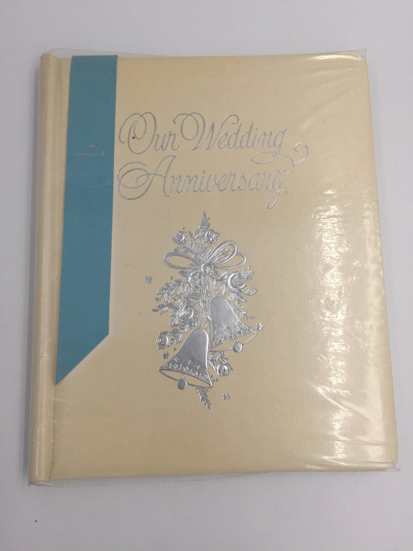 8091 - H - Our Wedding Memory Book - Flowered Pages for Memories - Photographs