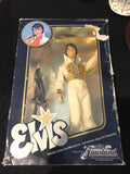 8164 - C - Elvis 1984 Graceland Figurine - Full Outfit - Guitar - Microphone