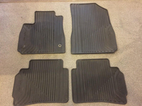 8271 -AU - 2016 Malibu All-Weather Floor Mats - Front and Back Mats - Very Good Condition -