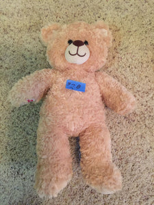 8300 - T - Named Peachy this Cozy Teddy Bear Buddy will make a Fun Companion for Your Little Buddy
