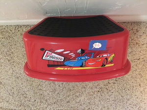 8316 - T - Walt Disney - Carz - Foot Stool