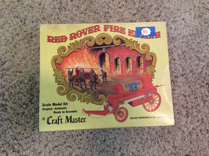 8320 - T - Red Rover Fire Engine Model Kit