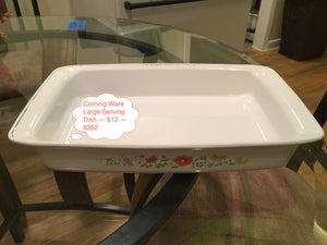 8352 - H - Large Corningware Serving Dish