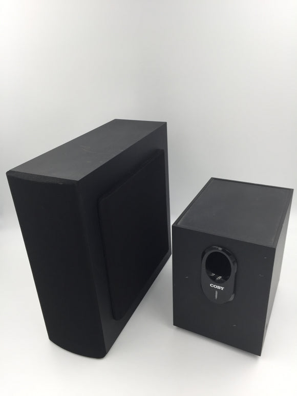 8404 - E - Coby Surround Sound Speaker Set - Black