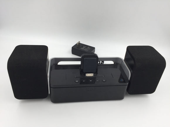 8406 - E - iPhone Speaker System - Black - iLUV