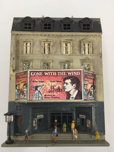 "8451 - T - Movie Theater Feature ""Gone with the Wind"" Grand Entrance, 5-Stories High"