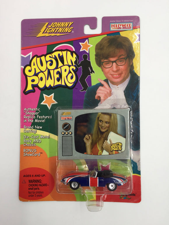 8549 - C - Austin Powers - 1999 Hotwheels Special Edition - Shaguar