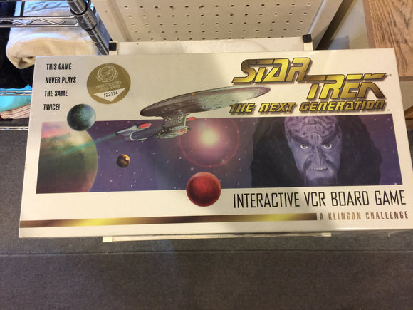 8559 - T - Star Trek - The Next Generation - 1993 Interactive VCR Board Game