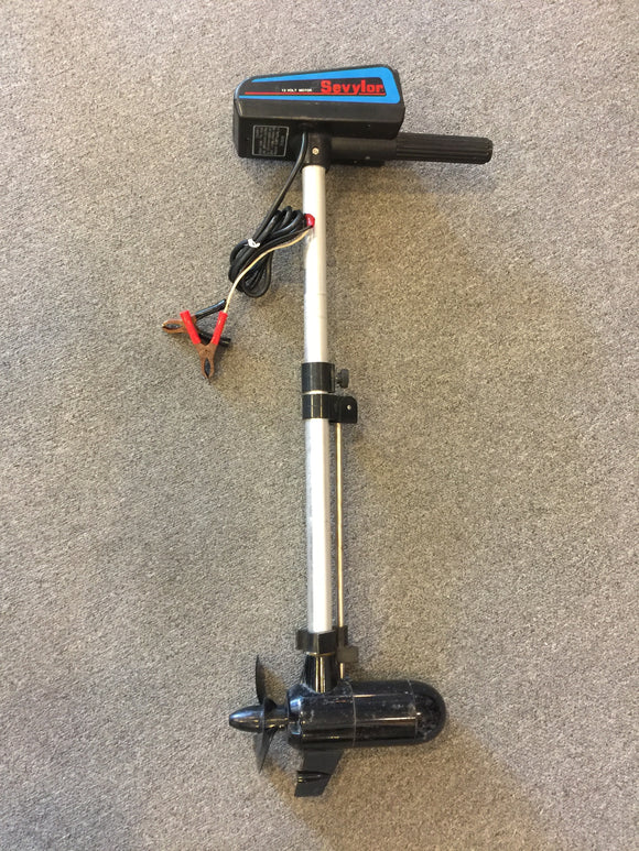 8585 - SP - Trolling Motor - 12 Volt - Silent but Powerful - A Must for the Any Fisherman - Very Good Used Condition -